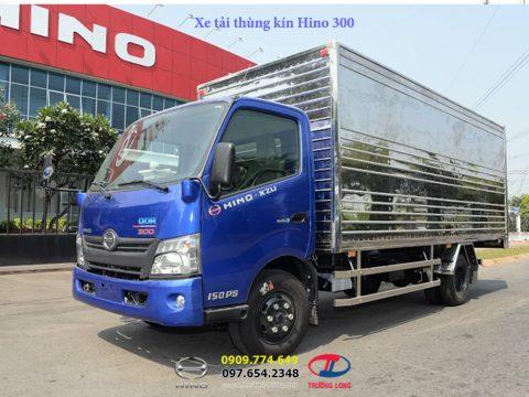 Xe tải Hino thùng kín